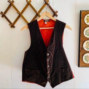 Vintage Suede Waistcoat Vest